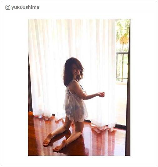 大島優子、美くびれのぞくSEXYショットが「エロ可愛い」 愛されボディに支持