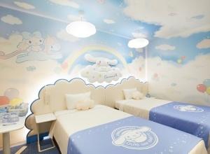 可愛すぎると話題!東京「アワーズイン阪急」のシナモロールルームに泊まりたい女子続出中
